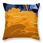 Fungi Work Number 4 Throw Pillow