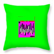 Funk De Bossa Throw Pillow
