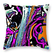 Funky Pop-14 Throw Pillow