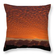 Funky Sky Throw Pillow