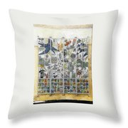 Funky/thought-provoking Public Art, Dk Throw Pillow