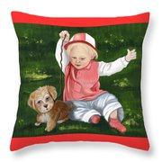 Funny Moments Throw Pillow