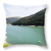 Funsingau Dam Near Gerlos Throw Pillow