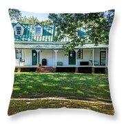 Fuqua Farm House Throw Pillow