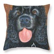 Fur Ever Yours Throw Pillow
