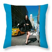 Fur-st Avenue Throw Pillow