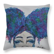 Furaha Throw Pillow
