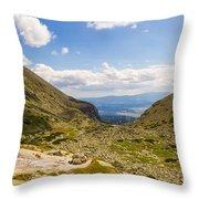 Furkotska Dolina Throw Pillow