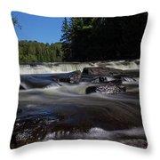 Furnace Falls - Minden Hills Throw Pillow