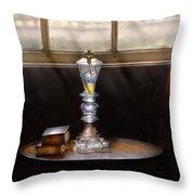 Furniture - Lamp -  The Oil Lamp Throw Pillow