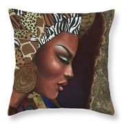 Further Contemplation Throw Pillow
