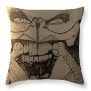 Fury On Fury Road Throw Pillow