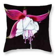 Charm Throw Pillow by Ekta Gupta