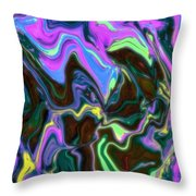 Fusia Translucid Throw Pillow