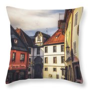 Fussen In The Morning Throw Pillow