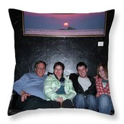 Future Gallery Solo Throw Pillow