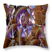 Future Gothic Throw Pillow