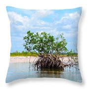 Future Island Throw Pillow