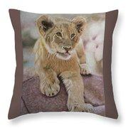 Future King Throw Pillow