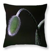 Future Poppy Throw Pillow