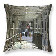 Futures In Front Of You Throw Pillow