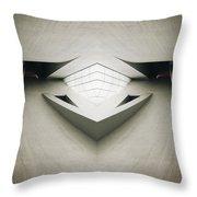 Futuristic Architecture One Throw Pillow