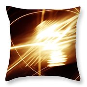 Futuristic Background Throw Pillow