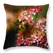 Fuzzy Buzzy Throw Pillow