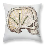Fuzzy Logic/dangerous Thoughts Throw Pillow