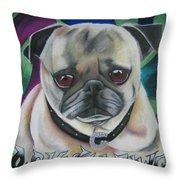 G Dawg Throw Pillow