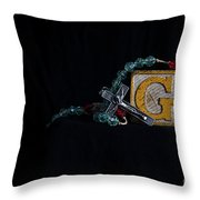 G Is For God Throw Pillow