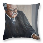 G K Chesterton Throw Pillow