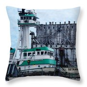 G. L. Ostrander Throw Pillow