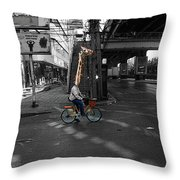 G-raff Throw Pillow
