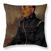 G V Blackstone - G M London Fire Force Throw Pillow