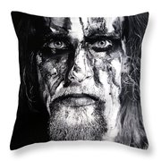 Gaahl Throw Pillow