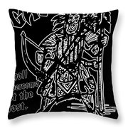 Gad At The Last-white Trim Throw Pillow