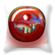 Gaeia Throw Pillow
