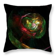 Gaia Revealed Throw Pillow