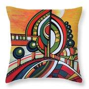 Gaia's Dream Throw Pillow
