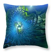 Gaia's Emergence Throw Pillow