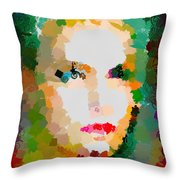 Gal Hotty Totty Throw Pillow