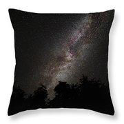 Galactic Center Throw Pillow