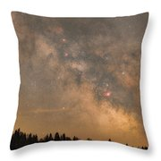 Galactic Center Throw Pillow