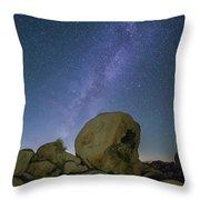 Galactic Desert Throw Pillow