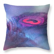 Galactic Eye Throw Pillow