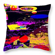 Galactic Voyages Throw Pillow