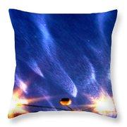 Galaxies 65 Throw Pillow