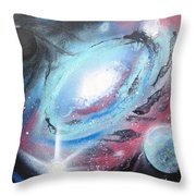 Galaxy 2.0 Throw Pillow
