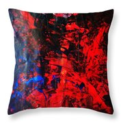 Galaxy Without Gravity Throw Pillow